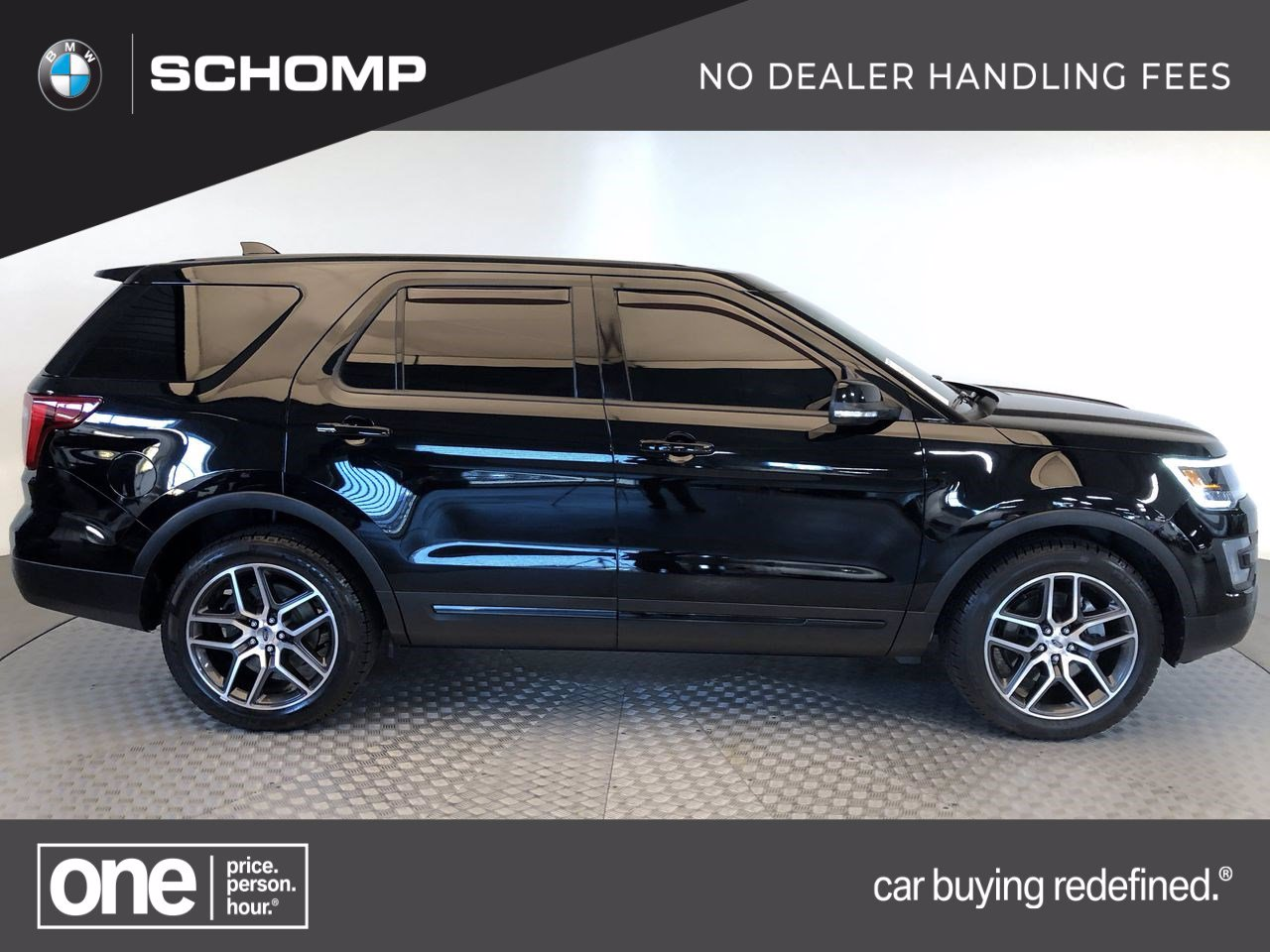 Pre-Owned 2016 Ford Explorer Sport