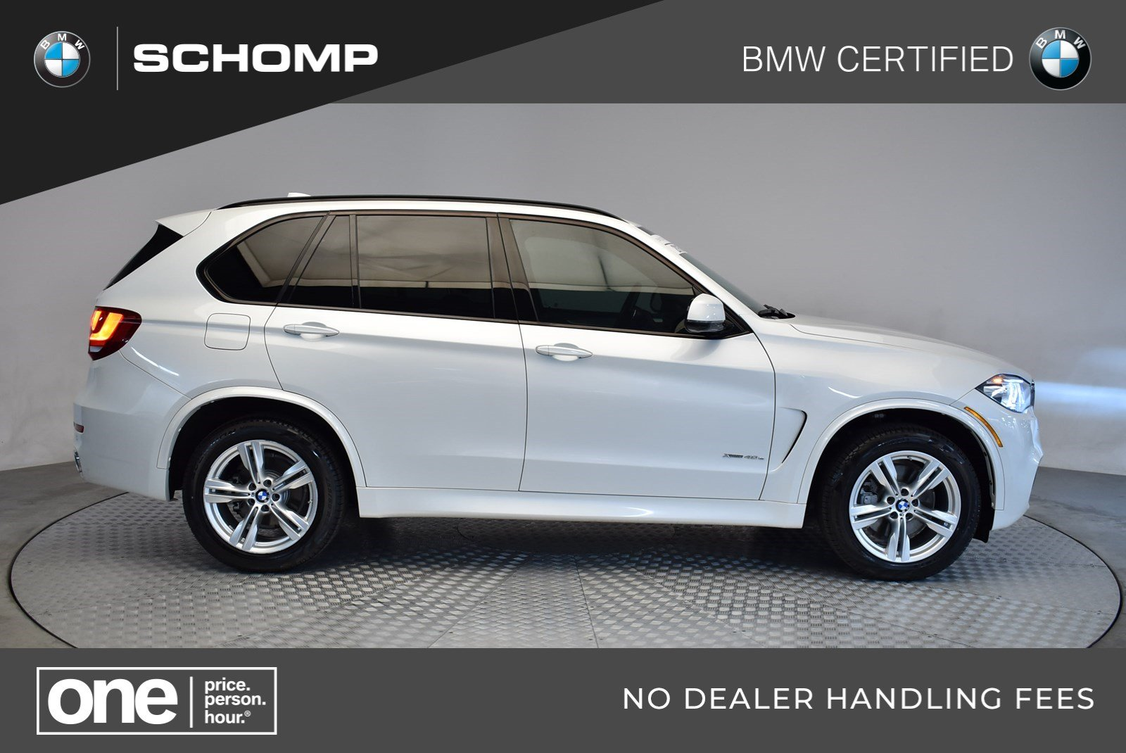 Certified Pre-Owned BMW 2016 X5 eDrive xDrive40e AWD