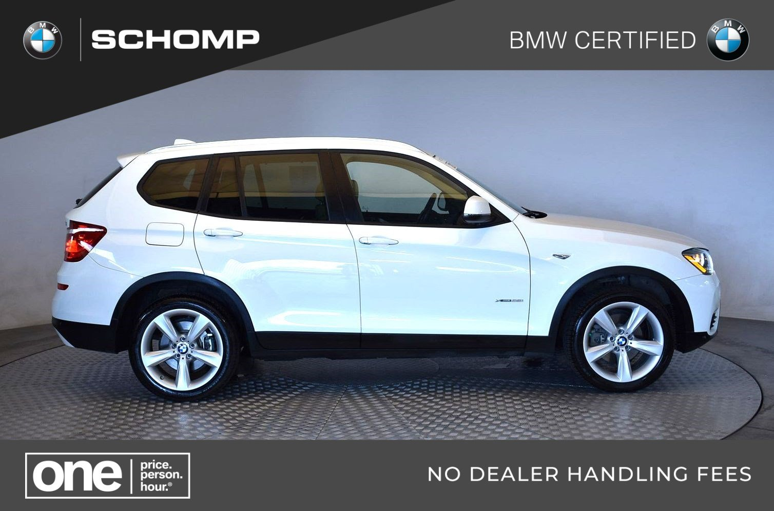 Bmw Certified Pre Owned >> Certified Pre Owned Bmw 2017 X3 Xdrive35i Awd