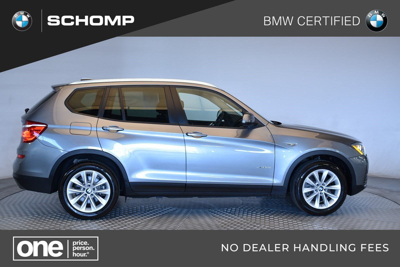 Certified Pre Owned 2016 Bmw X3 Xdrive28i