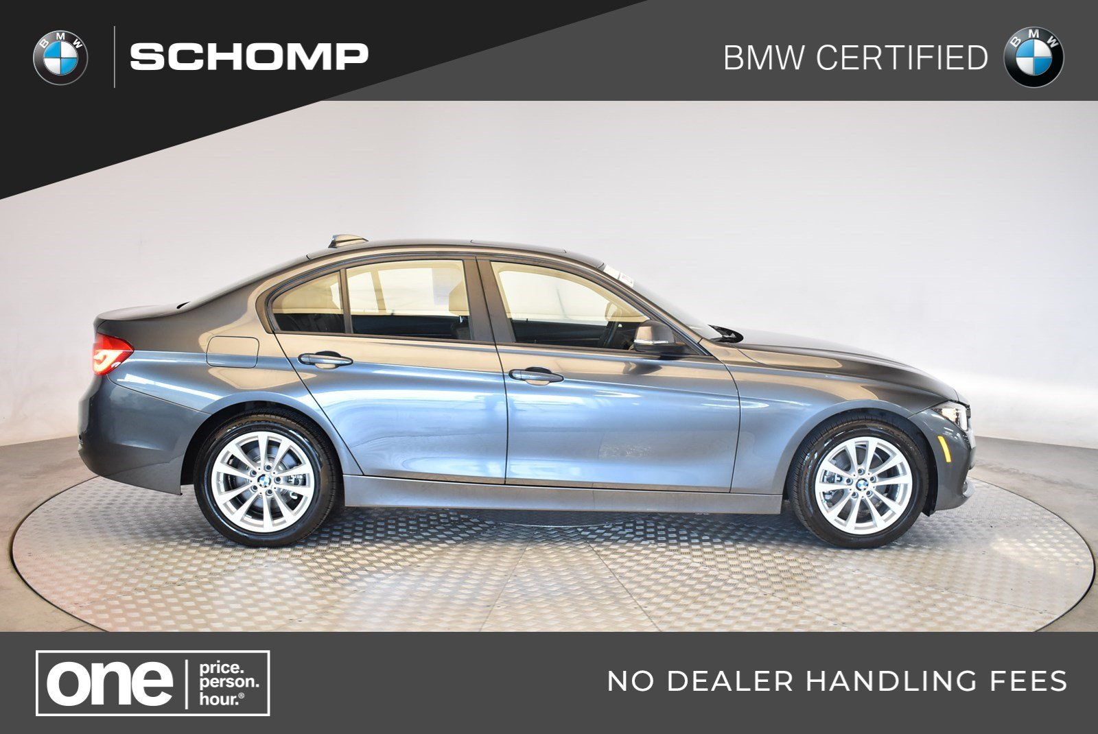 Certified Pre-Owned BMW 2016 3 Series 320i xDrive AWD