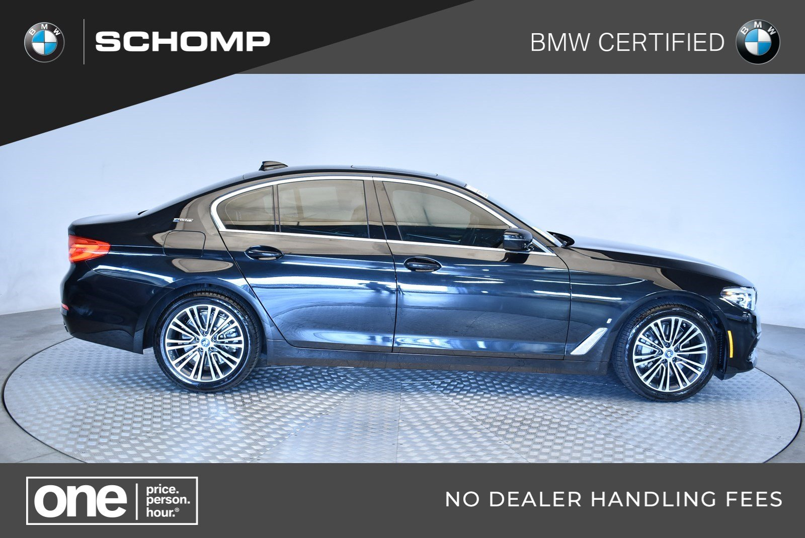 Certified Pre-Owned 2019 BMW 5 Series 530e xDrive iPerformance