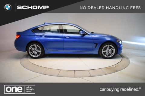 New 2018 BMW 4 Series 430i xDrive Gran Coupe