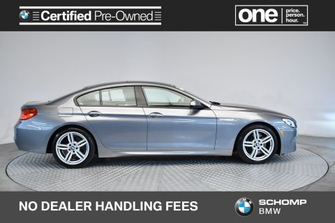 Certified Pre-Owned 2018 BMW 6 Series 650i xDrive