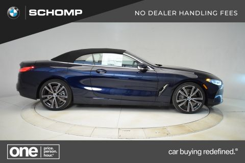 New 2020 BMW 8 Series 840i Convertible